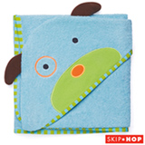 Toalha de Banho com Capuz Zoo Cachorro Skip Hop Azul - V-10-002