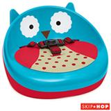 Booster para Alimentação Zoo Coruja Skip Hop Azul e Vermelho - A-31-005