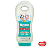 Shampoo Turma da Mônica Extra Suave Huggies 400ml
