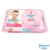 Lenço Umedecido Johnson's Baby Extra Cuidado com 96 Unidades