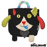 Mochila Charlos o Gato Les Deglingos Preta - B-28-017