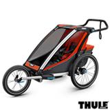 Carrinho de Bebê Multifuncional Chariot Cross Laranja e Preto - Thule