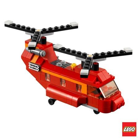 , Vermelho, 03 meses, Lego