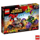 76078 - LEGO Super Heroes - Hulk contra Hulk Vermelho