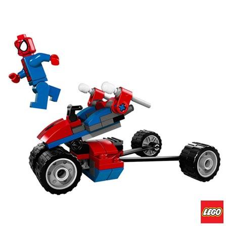 76014 - LEGO Super Heroes - Spider-Trike Contra Electro, Não se aplica, A partir de 05 anos, 70, 03 meses, Lego