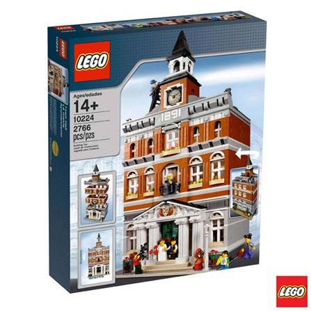 10224 - LEGO Creator Expert - Town Hall, Não se aplica, A partir de 14 anos, 2766, 03 meses, Lego