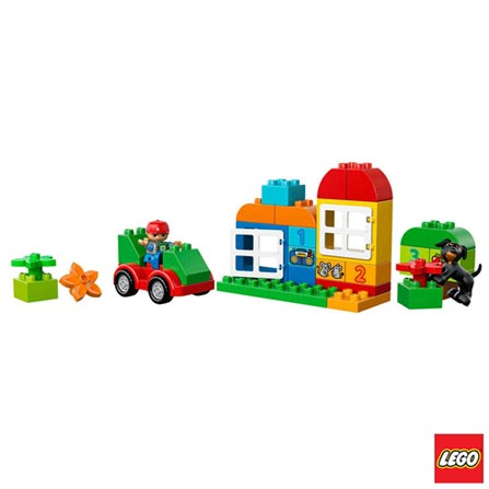 10572 - LEGO DUPLO Caixa Divertida Tudo em um Conjunto, Não se aplica, A partir de 02 anos, 65, 03 meses, Lego