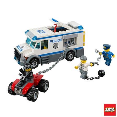 60043 - LEGO City - Locomocao de Prisioneiros, Não se aplica, A partir de 05 anos, 196, 03 meses, Lego