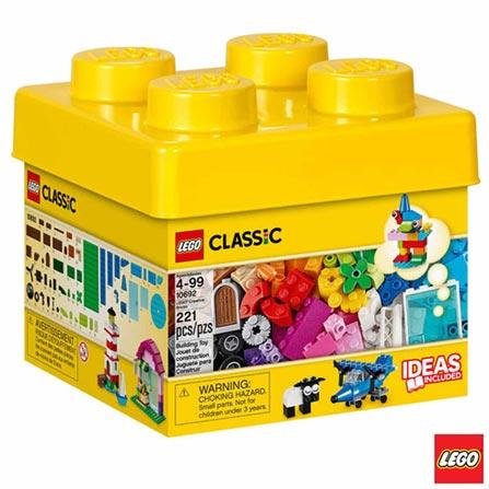 10692 - LEGO Classic - Pecas Criativas LEGO, Não se aplica, A partir de 04 anos, 221, 03 meses, Lego