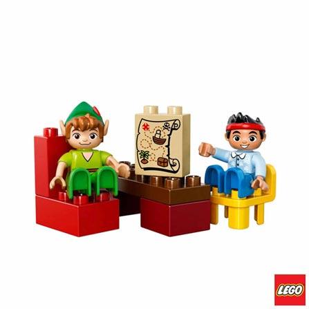 10526 - LEGO DUPLO - A Visita de Peter Pan, Não se aplica, A partir de 02 anos, 39, 03 meses, Lego