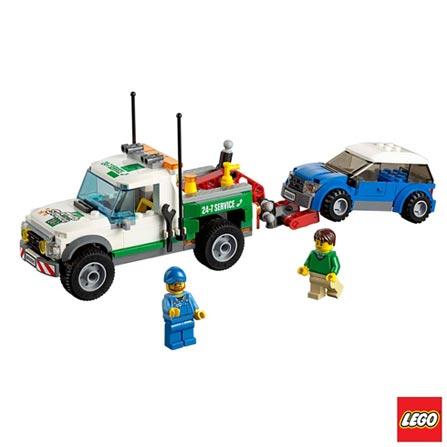 60081 - LEGO City Great Vehicles - Caminhao Rebocador, Não se aplica, A partir de 05 anos, 209, 03 meses, Lego