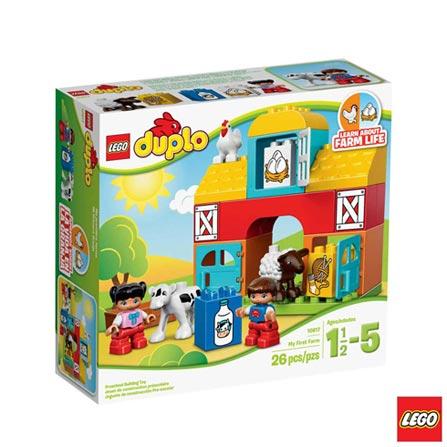 10617 - LEGO DUPLO  My First Minha Primeira Fazenda, Não se aplica, A partir de 02 anos, 26, 03 meses, Lego