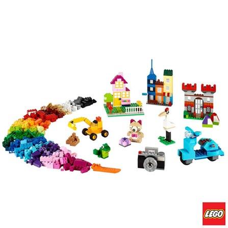 10698 - LEGO Classic - Caixa Grande de Pecas Criativas LEGO, Não se aplica, A partir de 04 anos, 790, 03 meses, Lego