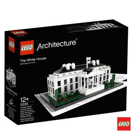 21006 - LEGO Architecture - The White House, Não se aplica, A partir de 13 anos, 560, 03 meses, Lego