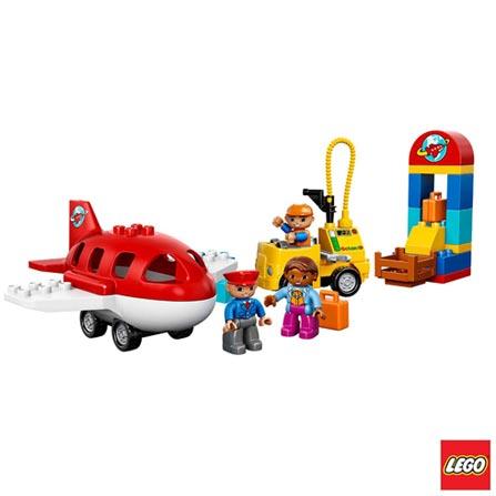 10590 LEGO DUPLO Town Aeroporto, Não se aplica, A partir de 02 anos, 29, 03 meses, Lego