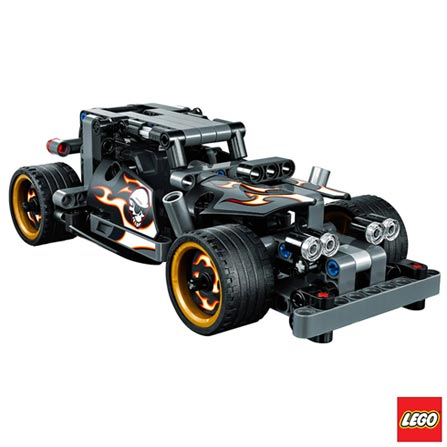 42046 - LEGO Technic - Carro de Fuga Rapida, Não se aplica, A partir de 07 anos, 170, 03 meses, Lego