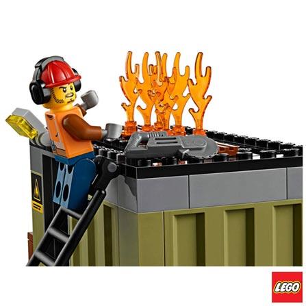 60108 - LEGO City - Corpo de Intervencao dos Bombeiros, Não se aplica, A partir de 05 anos, 257, 03 meses, Lego