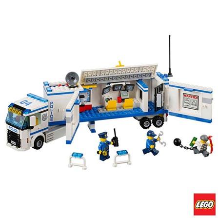 60044 - LEGO City - Policia Movel, Não se aplica, A partir de 05 anos, 375, 03 meses, Lego