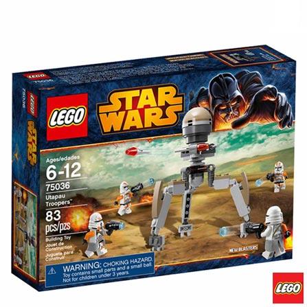 75036 - LEGO Star Wars - Utapau Troopers, Não se aplica, A partir de 06 anos, 83, 03 meses, Lego