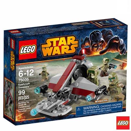 75035 - LEGO Star Wars - Kashyyyk Troopers, Não se aplica, A partir de 06 anos, 99, 03 meses, Lego