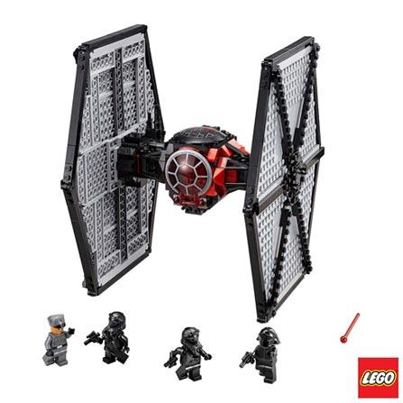 75101 - LEGO Star Wars - TIE Fighter das Forcas Especiais da Primeira Ordem, Não se aplica, A partir de 08 anos, 537, 03 meses, Lego