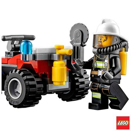 60105 - LEGO City - Veiculo Off-Road de Combate ao Fogo, Não se aplica, A partir de 05 anos, 64, 03 meses, Lego