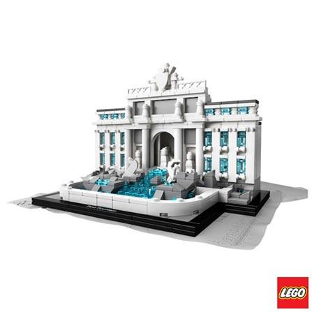 21020 - LEGO Architecture - Fontana de Trevi, Não se aplica, A partir de 12 anos, 731, 03 meses, Lego