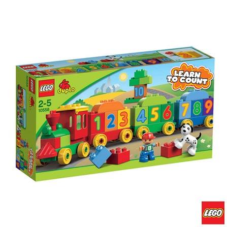 10558 - LEGO DUPLO - Locomotiva dos Numeros, Não se aplica, A partir de 02 anos, 31, 03 meses, Lego