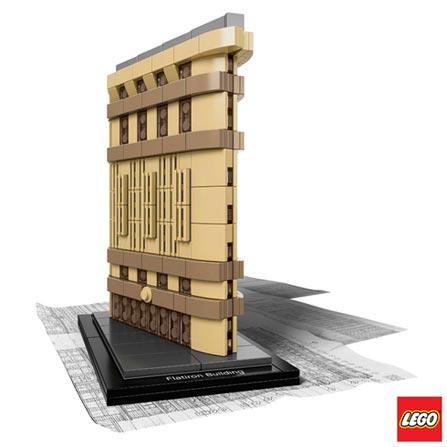 21023 - LEGO Architecture - Flatiron Building, Não se aplica, A partir de 12 anos, 471, 03 meses, Lego