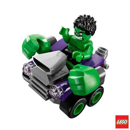76066 - LEGO Super Heroes - Poderosos Micros Hulk Contra Ultron, Não se aplica, A partir de 05 anos, 80, 03 meses, Lego