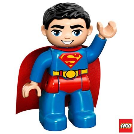 10543 - LEGO DUPLO - Superman em Missao de Resgate, Não se aplica, A partir de 02 anos, 19, 03 meses, Lego