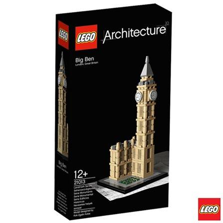 21013 - LEGO Architecture - Big Ben, Não se aplica, A partir de 13 anos, 346, 03 meses, Lego
