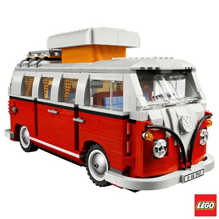 10220 - LEGO - Creator Expert - Volkswagen T1 Camper Van, Não se aplica, A partir de 16 anos, 1332, 03 meses, Lego
