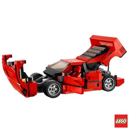 10248 - LEGO Creator Expert - Ferrari F40, Não se aplica, A partir de 04 anos, 1158, 03 meses, Lego