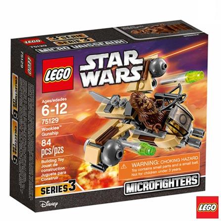 75129 -  LEGO Star Wars - Wookiee Gunship, Não se aplica, A partir de 06 anos, 84, 03 meses, Lego