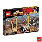 76037 LEGO Super Heroes Rhino e o Super Vilao Sandman Juntam Forcas