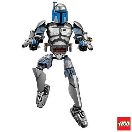 75107 - LEGO Star Wars Constraction Jango Fett, Não se aplica, A partir de 09 anos, 85, 03 meses, Lego
