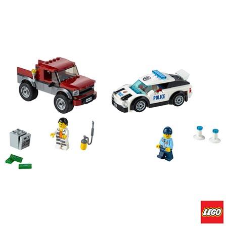 60128 - LEGO City - Perseguicao Policial, Não se aplica, A partir de 05 anos, 184, 03 meses, Lego
