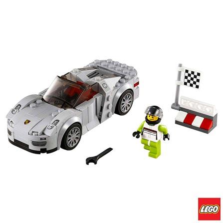 75910 - LEGO Speed Champions - Porsche 918 Spyder, Não se aplica, A partir de 07 anos, 151, 03 meses, Lego