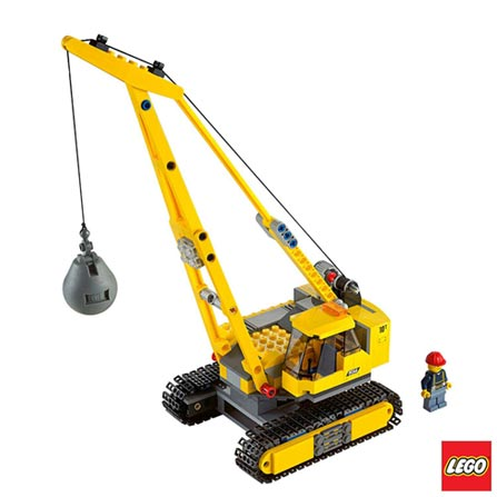 60076 - LEGO City - Local de Demolicao, Não se aplica, A partir de 06 anos, 776, 03 meses, Lego