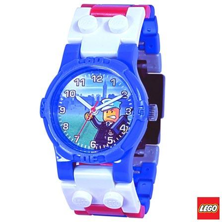 40047 - LEGO Clic Time - Relogio de Pulso City Polica, Não se aplica, A partir de 06 anos, 32, 03 meses, Lego
