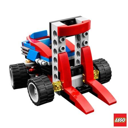 31030 - LEGO Creator - Kart Vermelho, Vermelho, A partir de 06 anos, 106, 03 meses, Lego