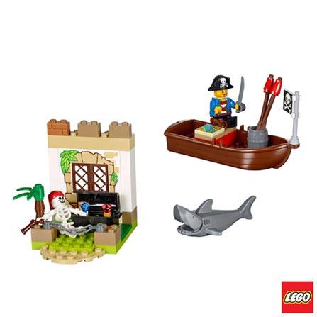 10679 - LEGO® Juniors - Piratas em Caça ao Tesouro, Não se aplica, A partir de 04 anos, 57, 03 meses, Lego