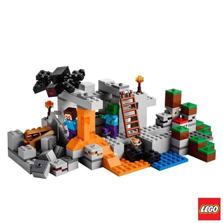 21113 - LEGO Minecraft Creative Adventure - A Caverna, Não se aplica, A partir de 08 anos, 249, 03 meses, Lego