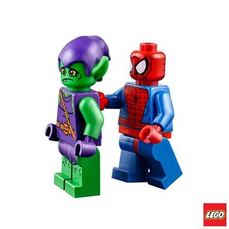 10687 LEGO Juniors Esconderijo Spider-Man, Não se aplica, A partir de 04 anos, 03 meses, Lego