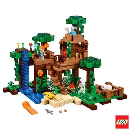 21125 - LEGO® Minecraft - A Casa da Árvore da Selva, Não se aplica, A partir de 08 anos, 706, 03 meses, Lego