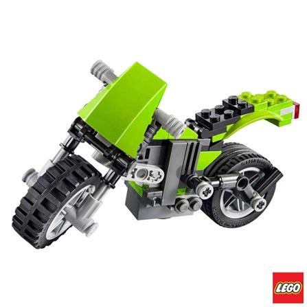 31018 - LEGO® Creator - Moto de Passeio, Não se aplica, A partir de 07 anos, 129, 03 meses, Lego