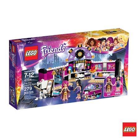 41104 - LEGO Friends - O Camarim da Pop Star, Não se aplica, A partir de 07 anos, 279, 03 meses, Lego
