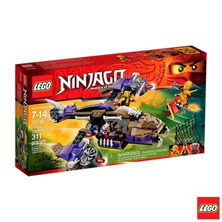 70746 - LEGO® Ninjago - Ataque de Helicóptero Condrai, Não se aplica, A partir de 07 anos, 311, 03 meses, Lego