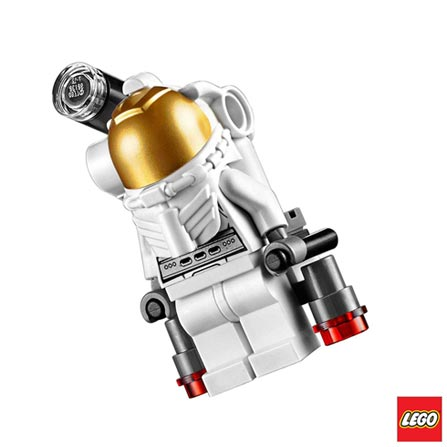 60077 - LEGO® City Space Port Conjunto de Iniciação Espacial, Não se aplica, A partir de 05 anos, 107, 03 meses, Lego